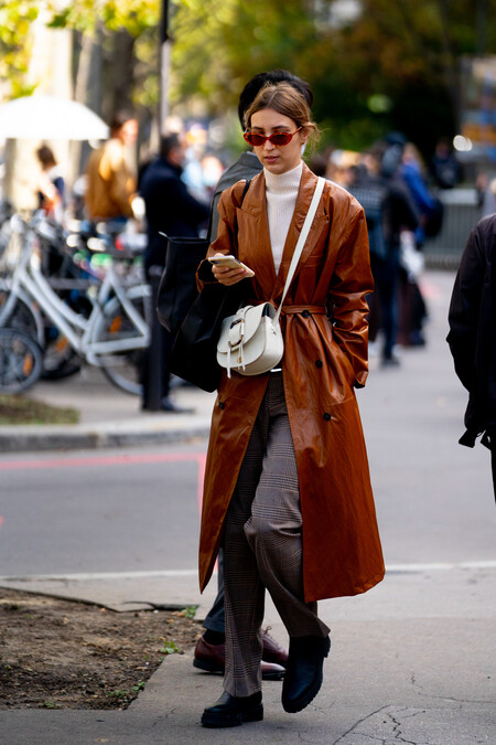 beige street style