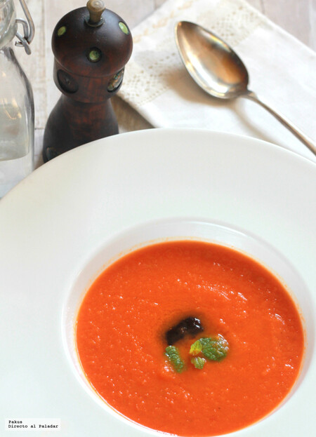 Carrot and Ginger Tomato Cream