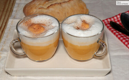 Pumpkin and Coconut Milk Cappuccino