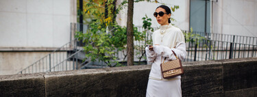 Street style has spoken: seven looks with white as the protagonist, ideal for autumn-winter (and the pieces to create them)