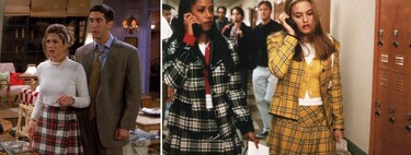 The plaid skirt is back as fashionable as in the 90's and these are the ones we like the most from the stores.