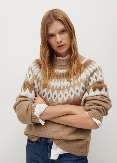 Geometric jacquard sweaterGeometric jacquard sweater