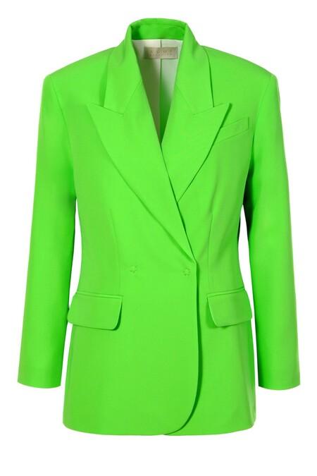 Neon Green Blazer 01