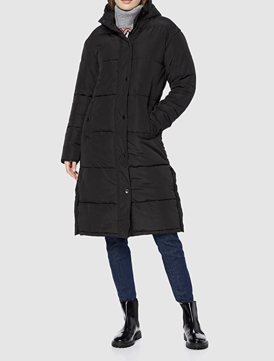 Amazon Find Long Padded Coat