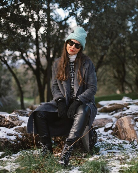 casual winter outfits with military boots
