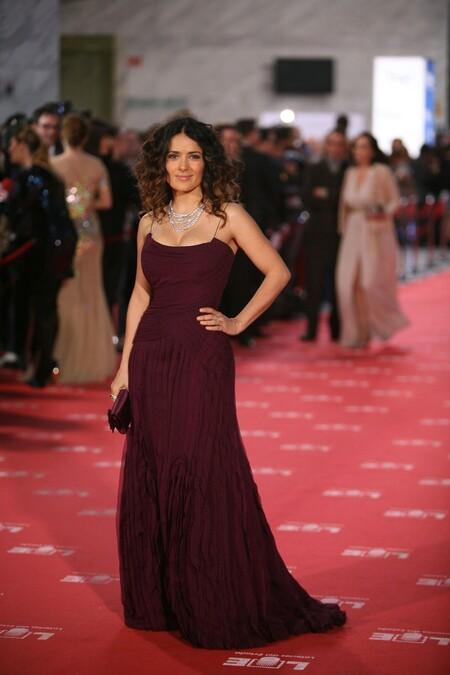 Salma Hayek Gucci 2012