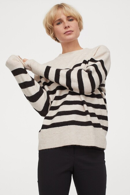 Sweater Hm Stripes 01