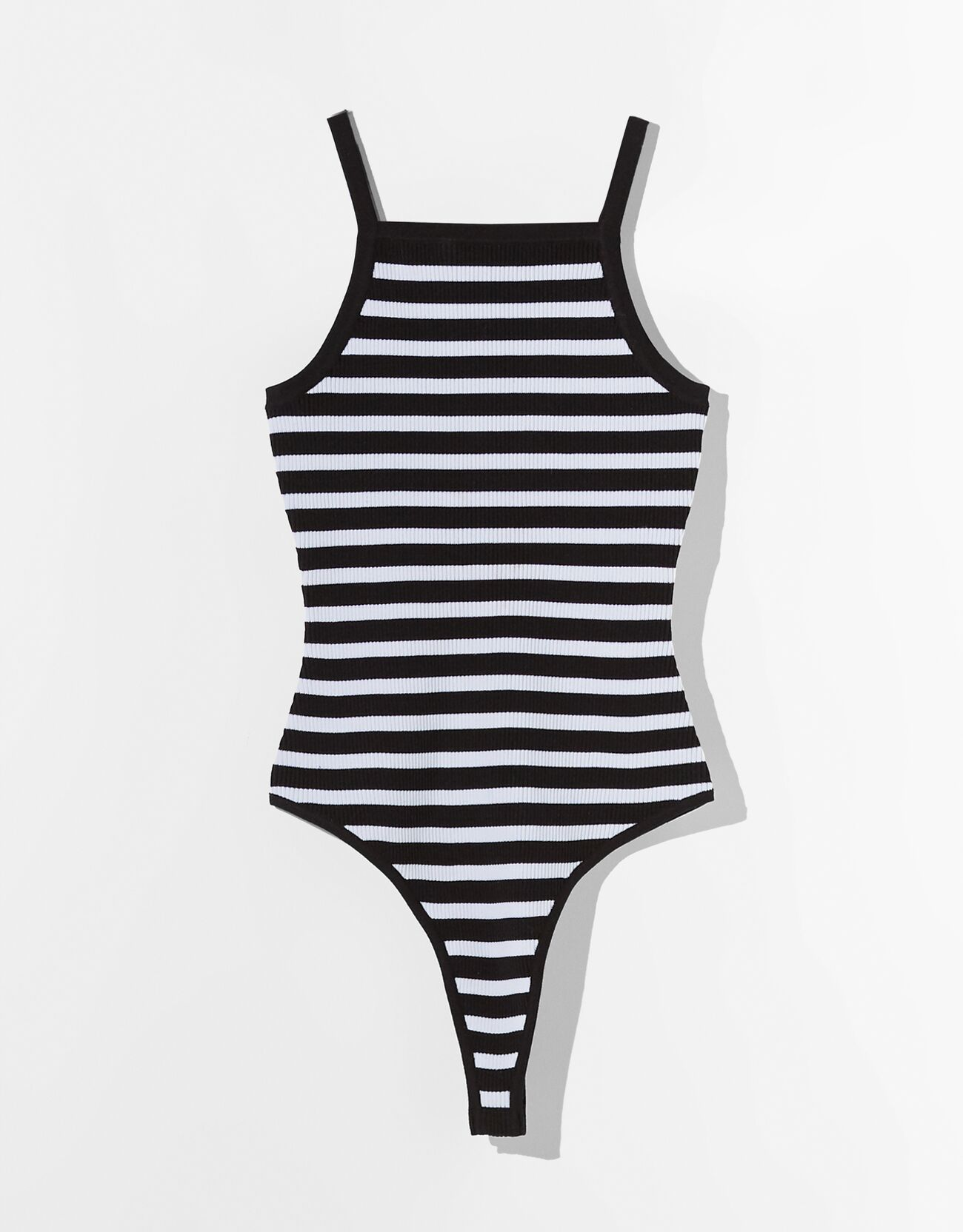 Striped bodysuit.