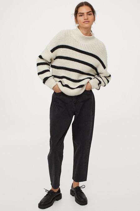 Sweater Hm Stripes 02