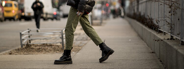 The street style leaves us the best ideas to wear our casual winter outfits with military boots.