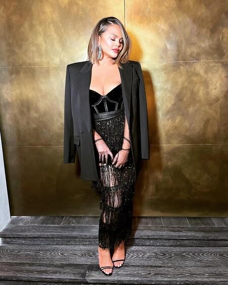 Chrissy Teigen Aadnevik Grammy 2021