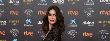 Goya Awards 2021: these were the best beauty looks of the red carpet.