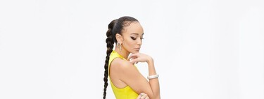 Ashley Madekwe dazzles us with her braid and eye makeup at the 2021 BAFTA Awards.