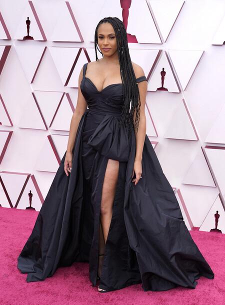 Nicolette Robinson Zuhair Murad 2021 Oscars