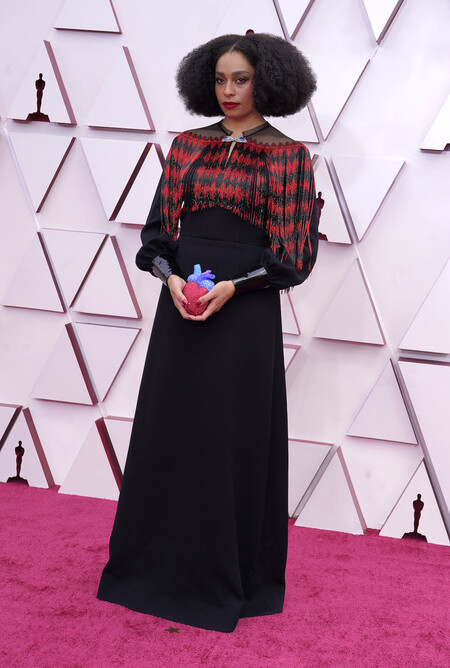 Celeste Waite Gucci Oscar 2021