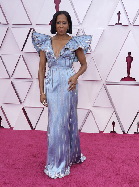 Regina King Louis Vuitton Oscar 2021