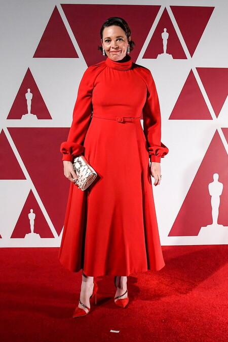 Olivia Colman Christian Dior Haute Couture Oscar 2021