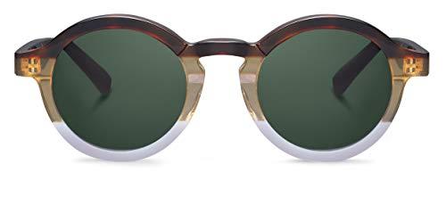 MR. BOHO Dalston Glasses, Seaside, 46x25x145 Unisex Adult