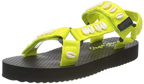 Pepe Jeans Pool W Sea, Sandal. Women's, 639lima, 39 EU