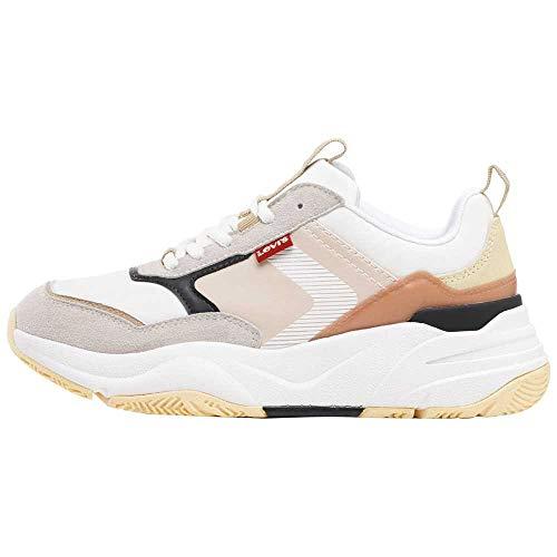 Levi's West, Women's Sneakers, beige, 39 EU