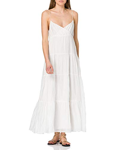 Pepe Jeans ANAE Dress, 803off White, Women's M