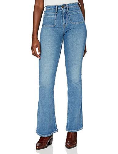 Lee Breese Patch Pocket Jeans Blue Aged 26W x 31L Women's Jeans