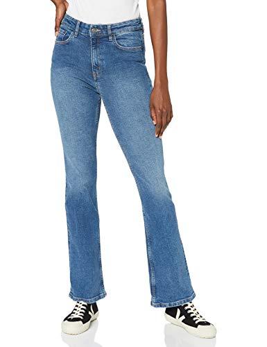 MERAKI USAPP7 Bootcut Jeans, Blue Washed Effect, 26W / 30L