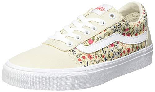 Vans Ward Canvas, Women's Sneakers, Ditzy Floral Turtledove/White, 39 EU