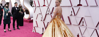 Carey Mulligan is much more than a young up-and-comer as she takes centre stage on the Oscars 2021 red carpet