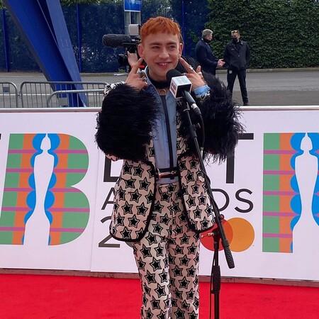 red carpet brit awards 2021 olly alexander