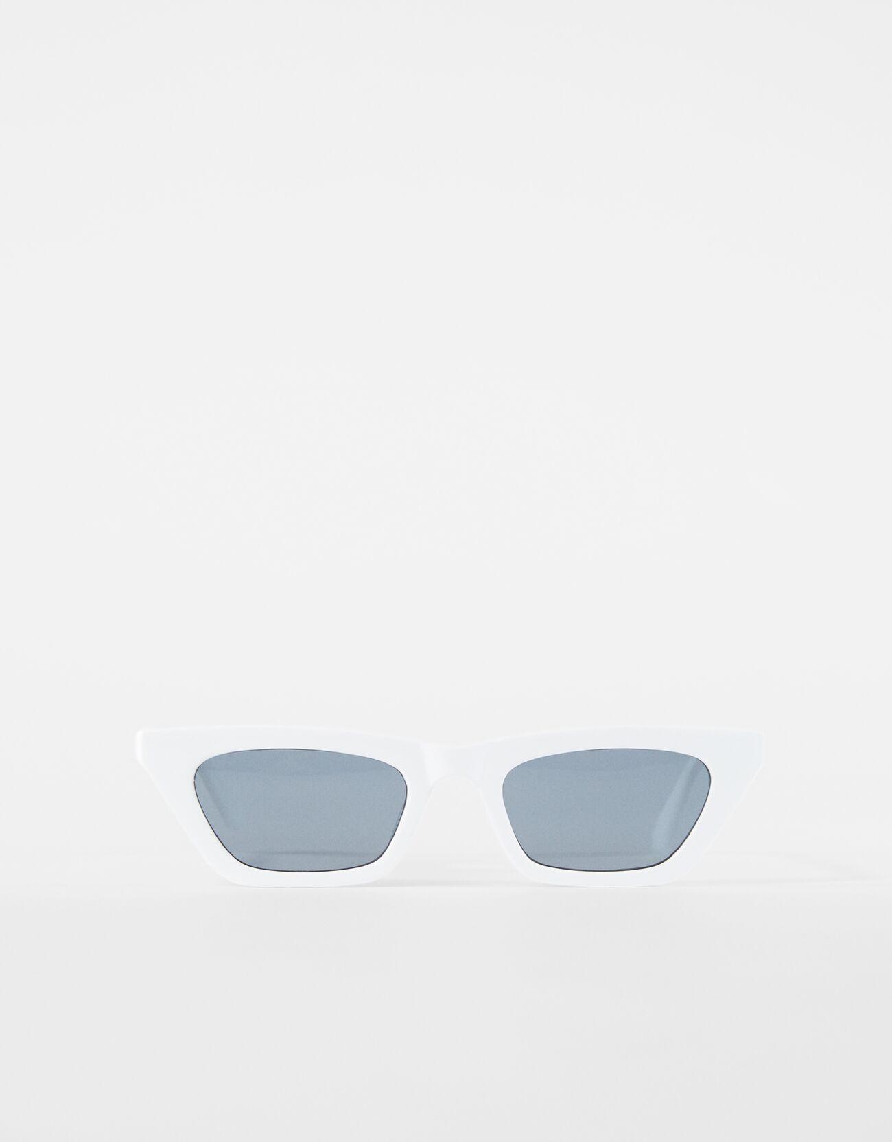 Cat eye sunglasses.