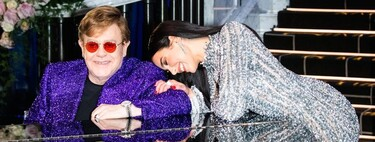 Dua Lipa wasn't on the Oscars 2021 red carpet, but her looks at Elton John's party were the best of the night