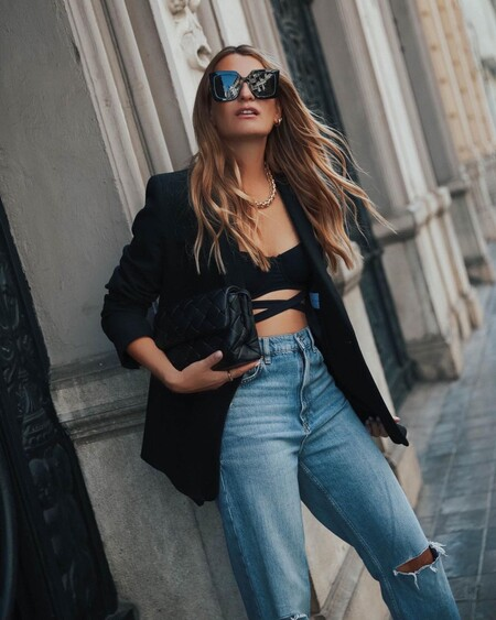 Bralette Street Style How to Combine 05