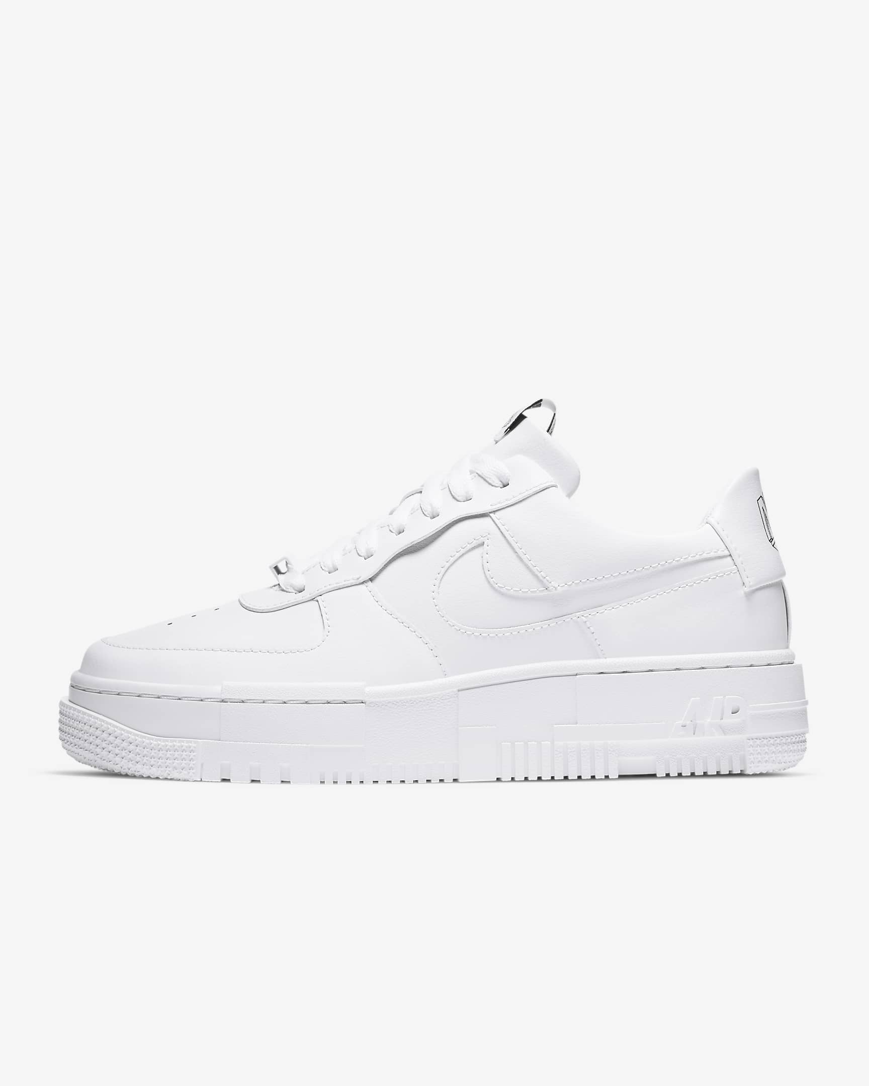 Air Force 1 Pixel white sneakers