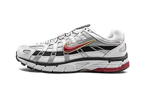Nike W P-6000 Women's Running Shoe, White/Varsity Red/Mtlc Platinum, 35.5 EU