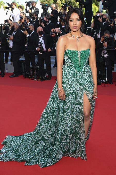 Kat Graham Etro July 6 Cannes