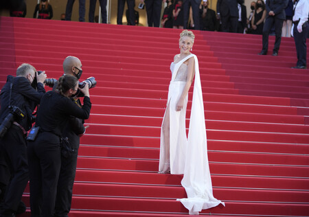 cannes red carpet 2021 sharon stone