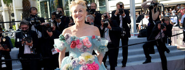 The ninth day of the Cannes Film Festival 2021 has left us lookazos and a Sharon Stone dressed as Cinderella captaining the red carpet.