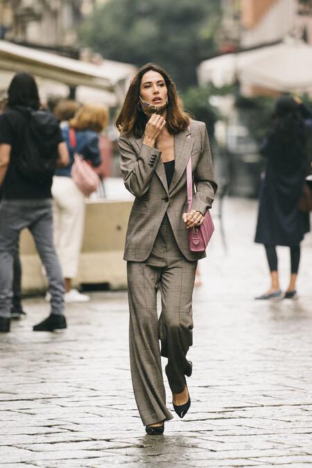 Matching Blazer Street Style 03