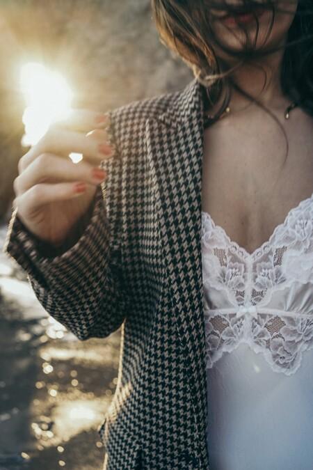 Lingerie Dress Blazer