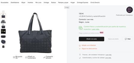 Chanel Vestiaire Collective 03 bag