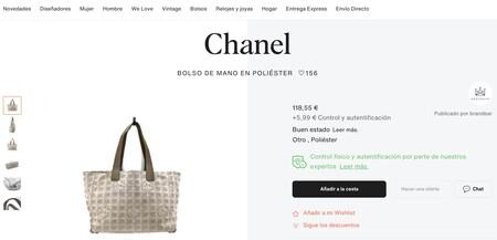 Chanel Vestiaire Collective 02 bag
