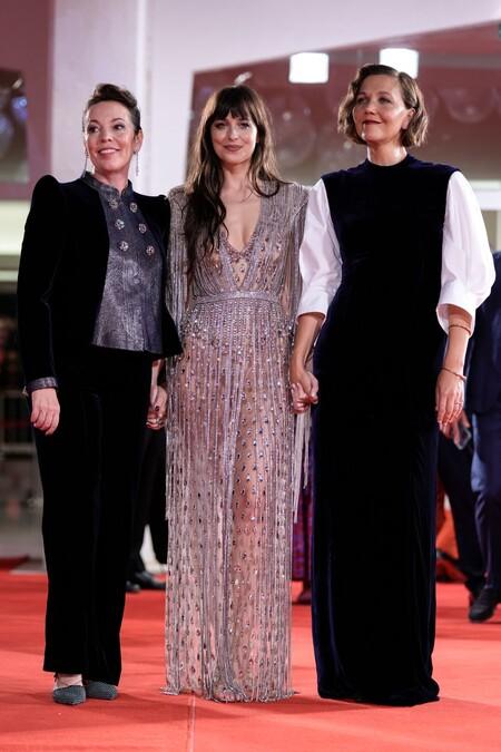 Maggie Gyllenhaal in Prada